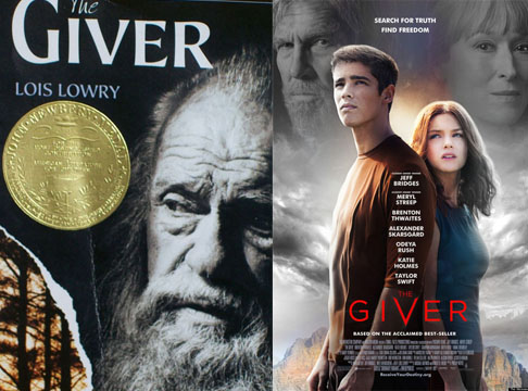 The Giver Book-Movie