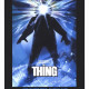 """A movie poster from """"The Thing"""", released in 1982."""