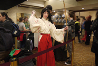 Anime fanatics enjoying themselves at the Anime Boston Convention 2016. Photos by Joanna Li.