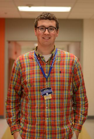 New math teacher Thomas Snarksy. Photo by Ryan Hames.