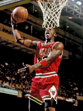 Basketball icon and legend Michael Jordan. Photo from WikiMedia.